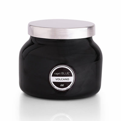 Volcano Black Petite Jar Candle, 8 oz HOME & GIFTS - Home Decor - Candles + Diffusers CURIO Teskeys