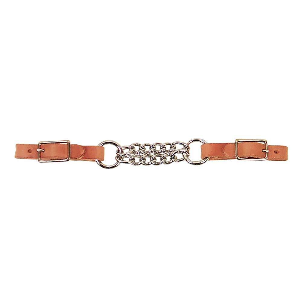Double Chain Curb Strap By Professional's Choice Tack - Bits, Spurs & Curbs - Curbs Professional's Choice Teskeys