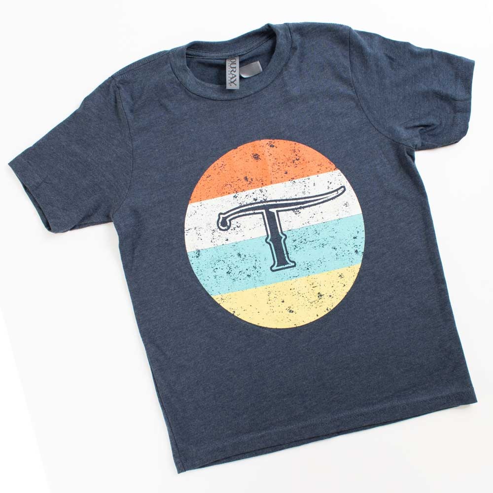 Teskey's Youth Distressed T Circle Tee TESKEY'S GEAR - Youth SS Shirts OURAY SPORTSWEAR Teskeys