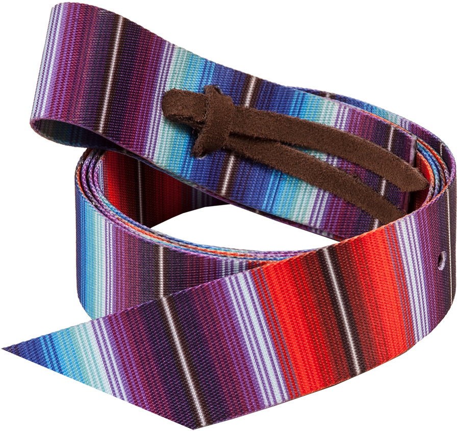 Mustang Fashion Print Nylon Tie Strap Saddles - Saddle Accessories Mustang Teskeys