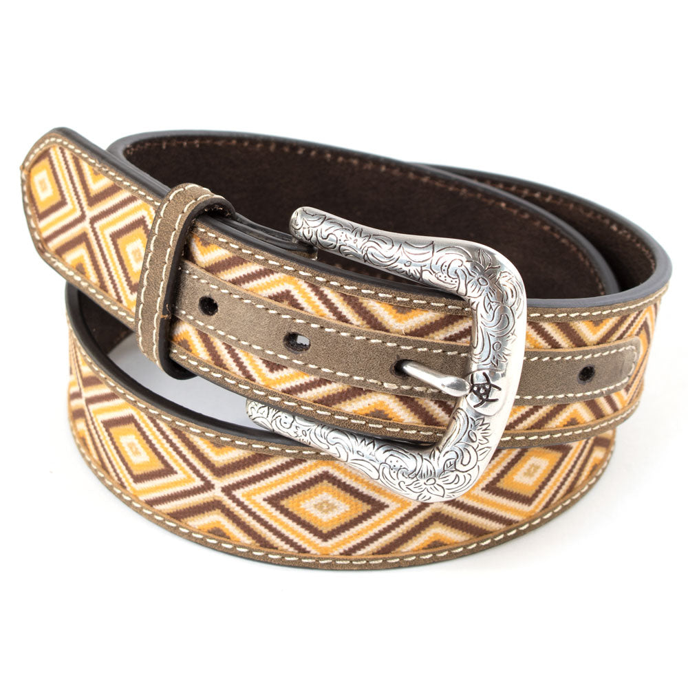 Ariat Diamond Pattern Belt WOMEN - Accessories - Belts M&F WESTERN PRODUCTS Teskeys