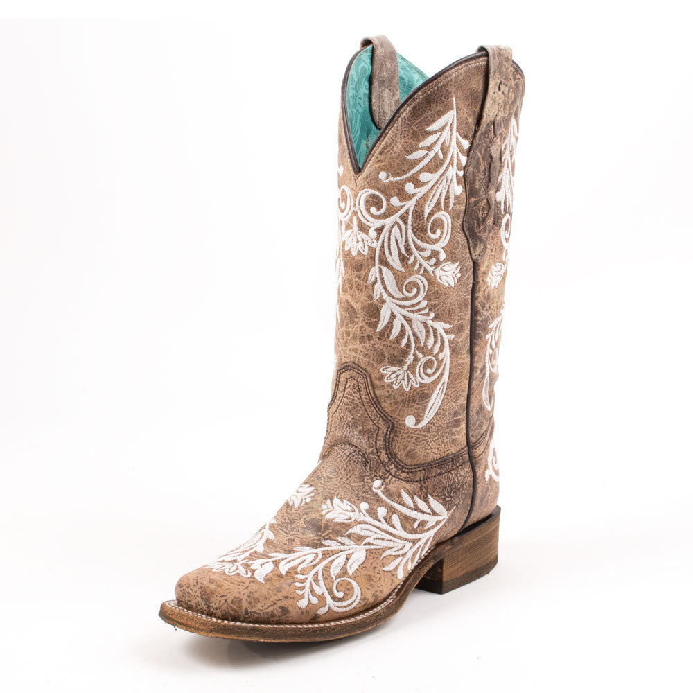Corral Floral Embroidered Boots WOMEN - Footwear - Boots - Fashion Boots CORRAL BOOTS Teskeys