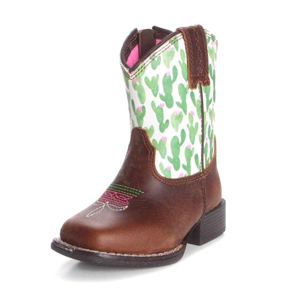 Ariat Chandler Brown Lil' Stompers Boot KIDS - Girls - Footwear - Boots M&F WESTERN PRODUCTS Teskeys