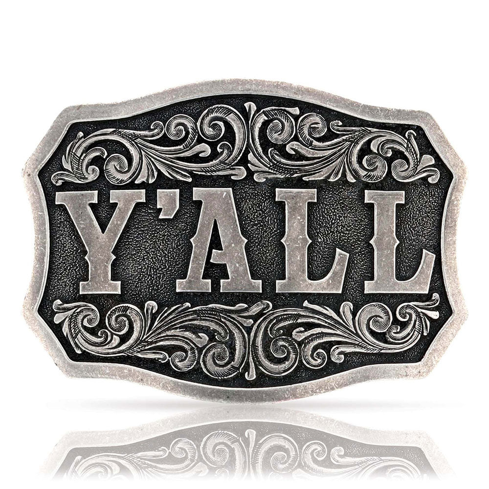 Montana Silversmiths It's A Southern Thing, Ya'll Attitude Buckle ACCESSORIES - Additional Accessories - Buckles Montana Silversmiths Teskeys