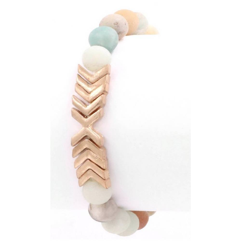 Mint Chevron Bracelet WOMEN - Accessories - Jewelry - Bracelets ARTBOX JEWEL Teskeys