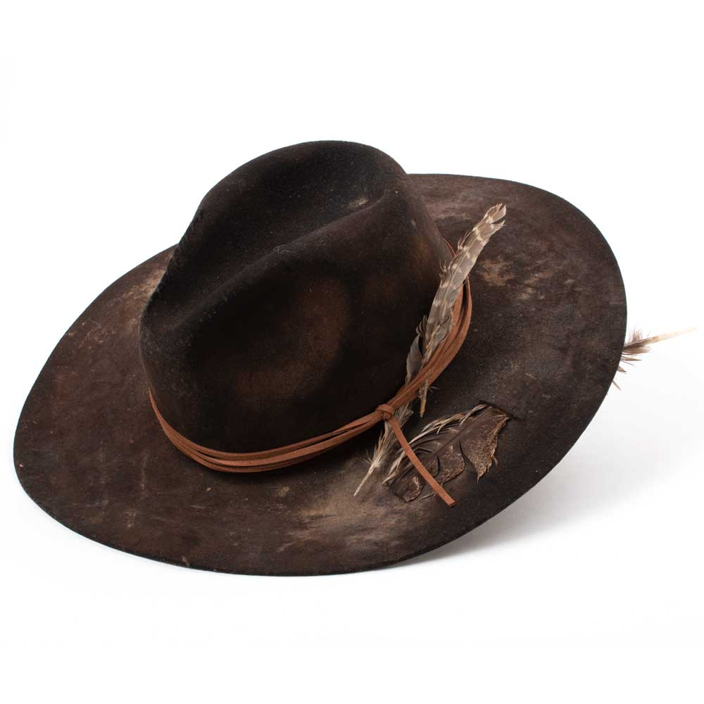 Rip Cowboy Hat WOMEN - Accessories - Caps, Hats & Fedoras A Rare Bird Teskeys