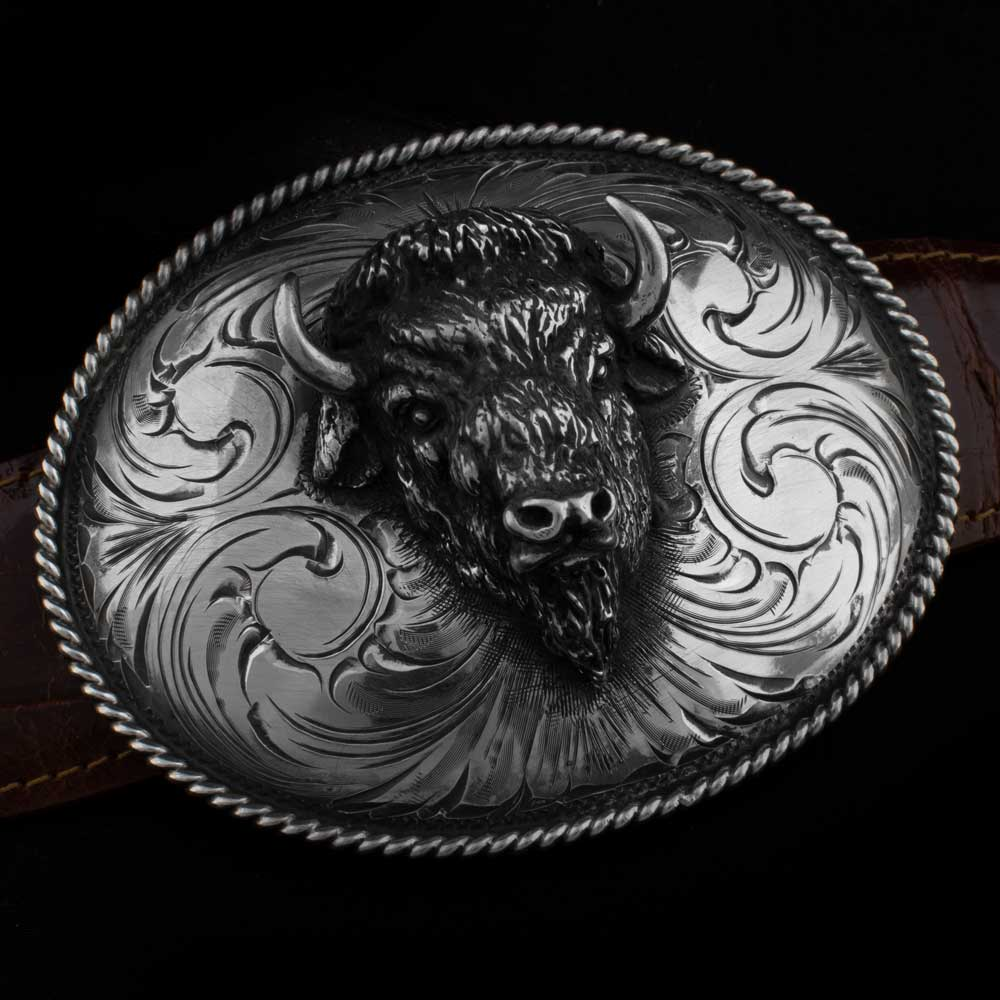 Comstock Heritage ASR50 Buffalo Head Buckle ACCESSORIES - Additional Accessories - Buckles COMSTOCK HERITAGE Teskeys