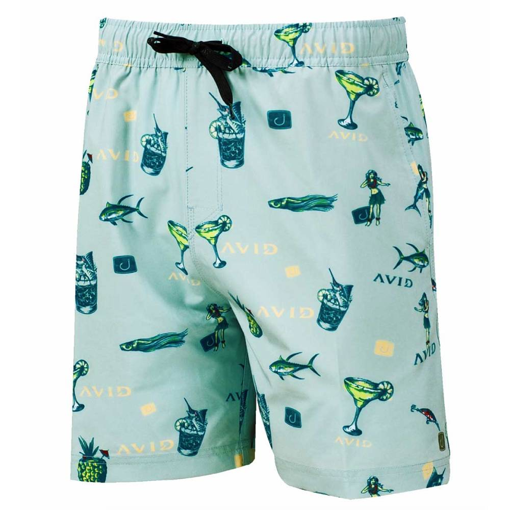 AVID Sandbar Volley Boardshort - Margarita MEN - Clothing - Surf & Swimwear AVID SPORTSWEAR Teskeys