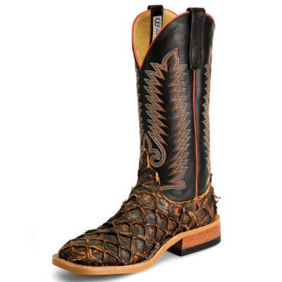 Anderson Bean Rusty Crush Big Bass Boot MEN - Footwear - Exotic Western Boots ANDERSON BEAN BOOT CO. Teskeys