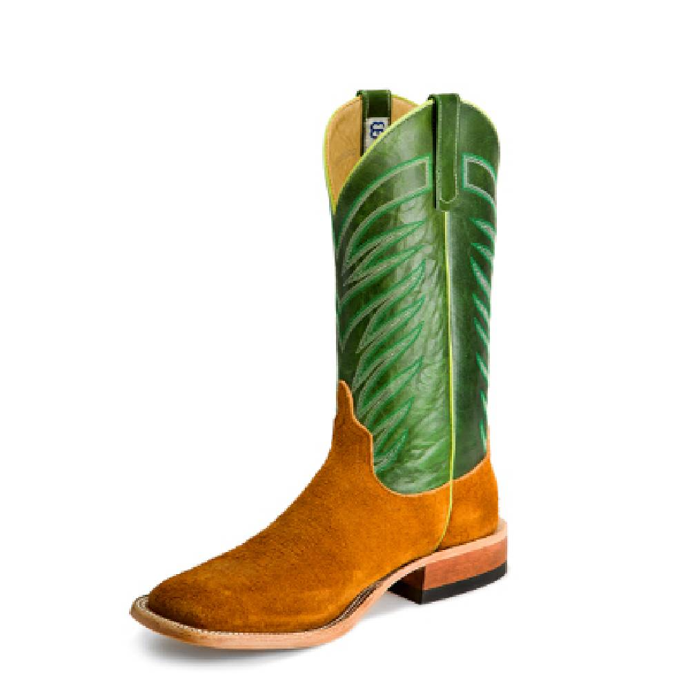 Anderson Bean Rust Crazyhorse Roughout Boot MEN - Footwear - Western Boots ANDERSON BEAN BOOT CO. Teskeys