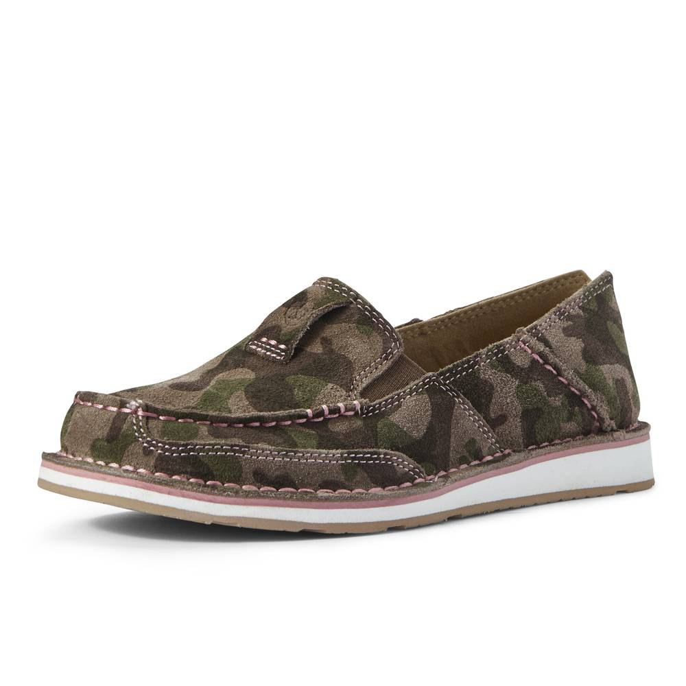 Ariat Camo Suede Cruiser WOMEN - Footwear - Casuals Ariat Footwear Teskeys