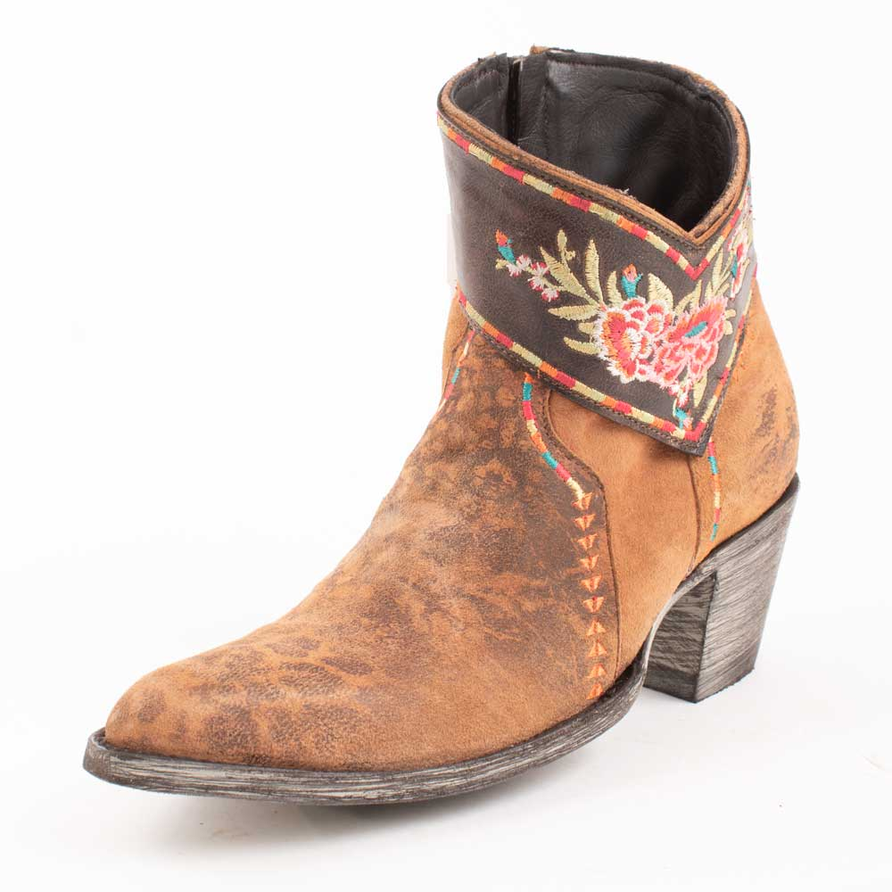 Old Gringo Dare Me Ochre Leopard Bootie WOMEN - Footwear - Boots - Booties OLD GRINGO Teskeys