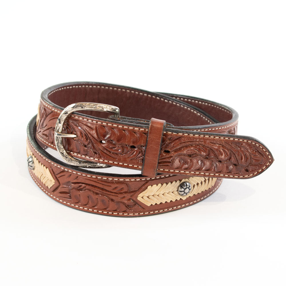 Teskey's Rawhide Stitch Belt (Kids & Mens) MEN - Accessories - Belts & Suspenders Teskey's Belts Teskeys