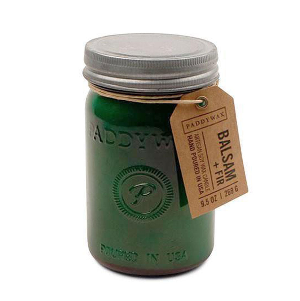 Paddywax Relish Jar Candle - Balsam + Fir HOME & GIFTS - Home Decor - Candles + Diffusers Paddywax Teskeys