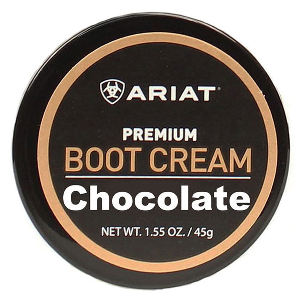 Ariat Boot Cream - Chocolate MEN - Footwear - Boots - Boot Care Ariat Teskeys