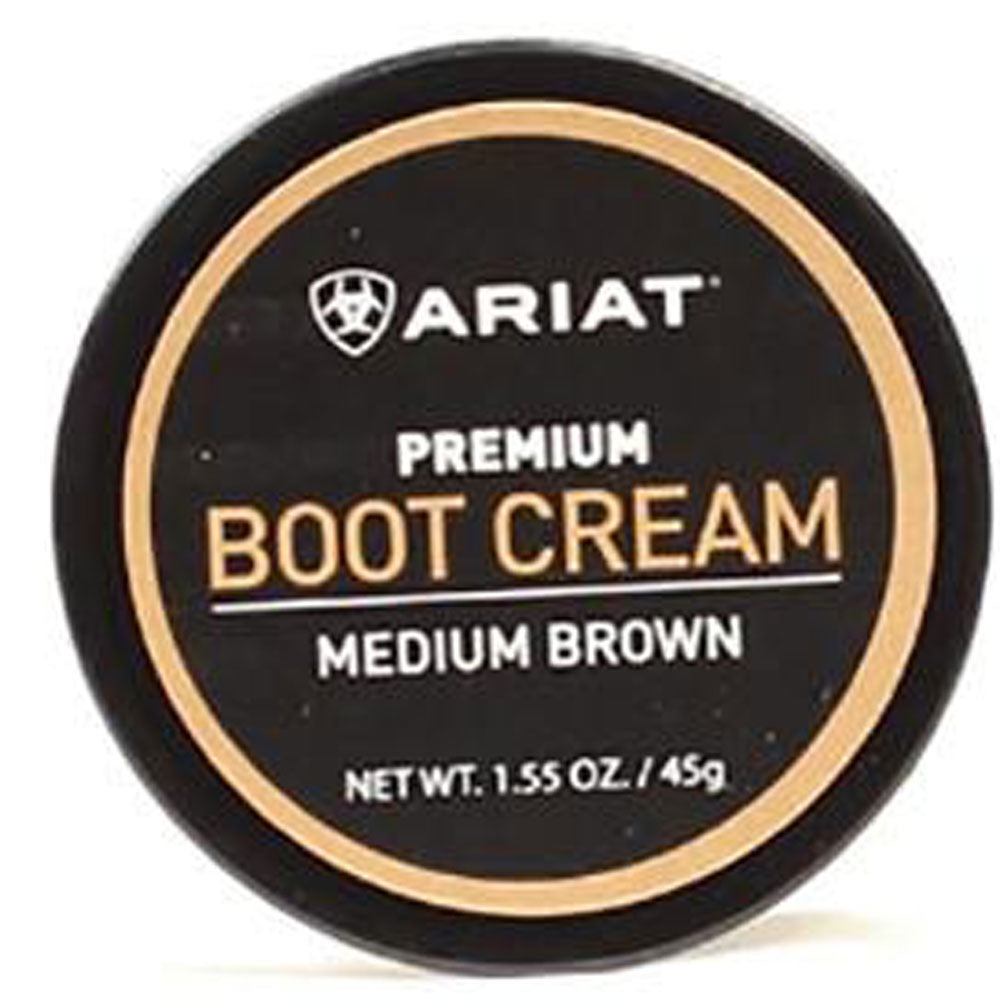 Ariat Boot Cream - Medium Brown MEN - Footwear - Boots - Boot Care Ariat Teskeys