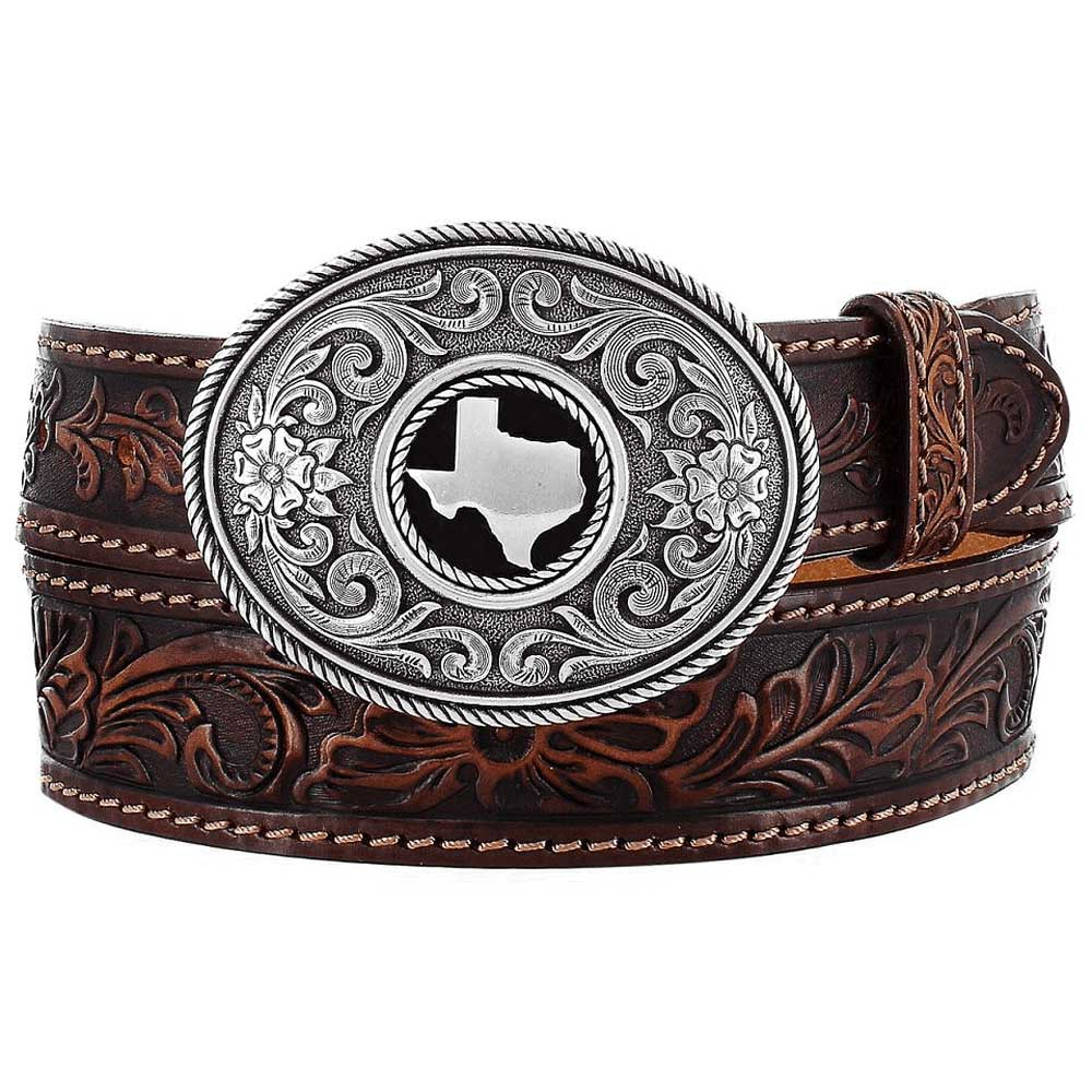 Justin Texas Belt - Brown MEN - Accessories - Belts & Suspenders LEEGIN CREATIVE LEATHER/BRIGHTON Teskeys