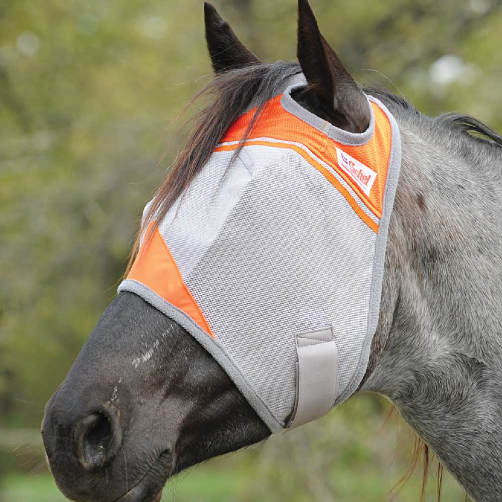 Cashel Charity Crusader Fly Mask FARM & RANCH - Animal Care - Equine - Fly & Insect Control - Fly Masks & Sheets Cashel Teskeys