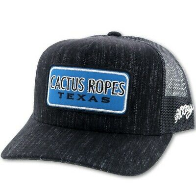 "HOOEY Cactus Ropes ""CR59"" Trucker Snapback Cap HATS - BASEBALL CAPS HOOEY Teskeys"