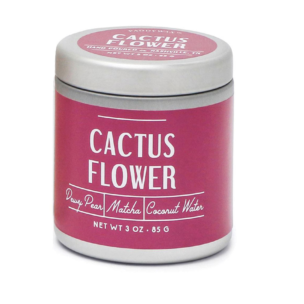 Cactus Flower 3oz Farmhouse Candle Tin HOME & GIFTS - Home Decor - Candles + Diffusers Paddywax Teskeys