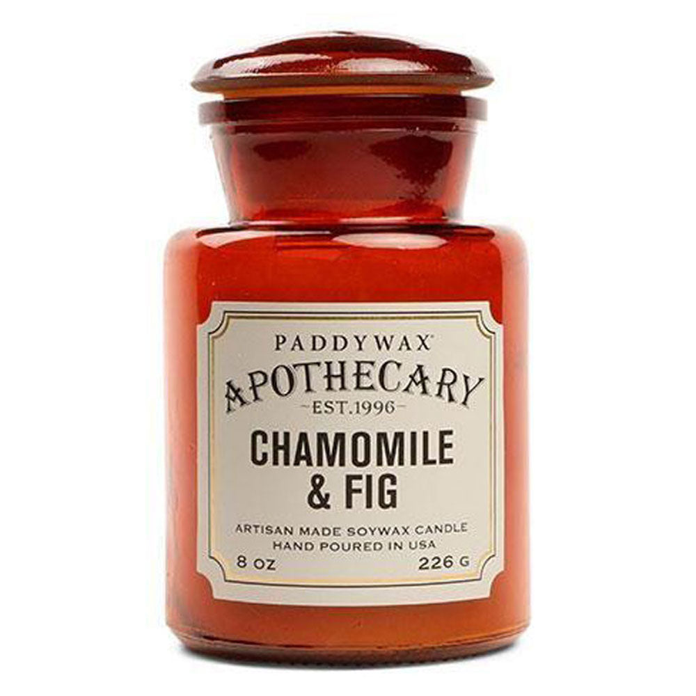 Apothecary 8oz Candle - Chamomile & Fig HOME & GIFTS - Home Decor - Candles + Diffusers Paddywax Teskeys