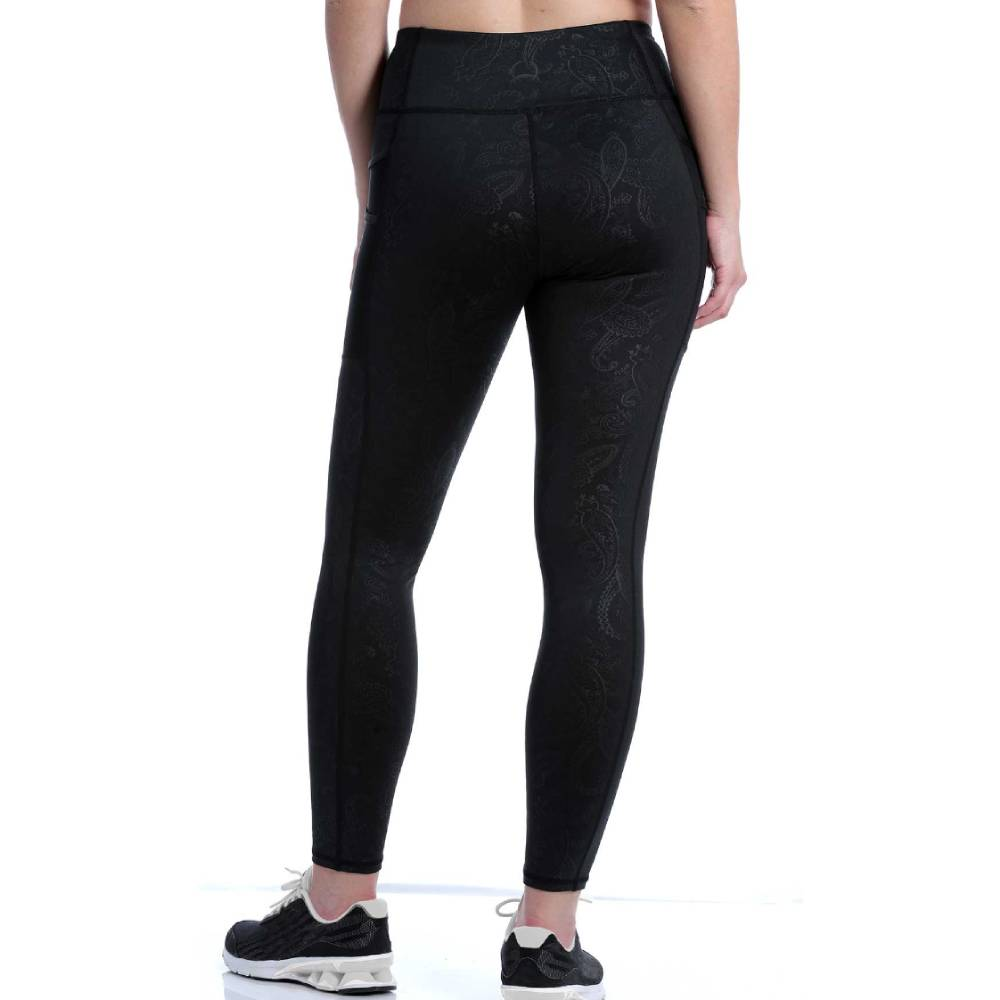 Cinch Black Print Leggings WOMEN - Clothing - Pants & Leggings CINCH Teskeys