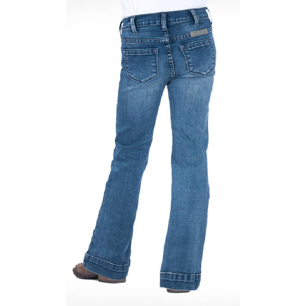 Cowgirl Tuff Girl's Just Tuff Medium Trouser KIDS - Girls - Clothing - Jeans COWGIRL TUFF Teskeys