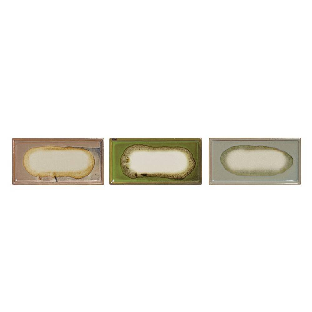 Decorative Stoneware Tray Home & Gifts - Home Decor - Decorative Accents Creative Co-Op Teskeys