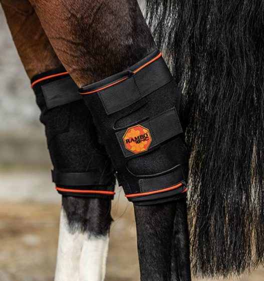 Rambo Ionic® Hock Boot Tack - English Tack & Equipment Horseware Teskeys