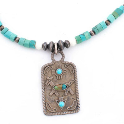 Runs with Dogs Love Beaded Necklace WOMEN - Accessories - Jewelry - Necklaces PEYOTE BIRD DESIGNS Teskeys