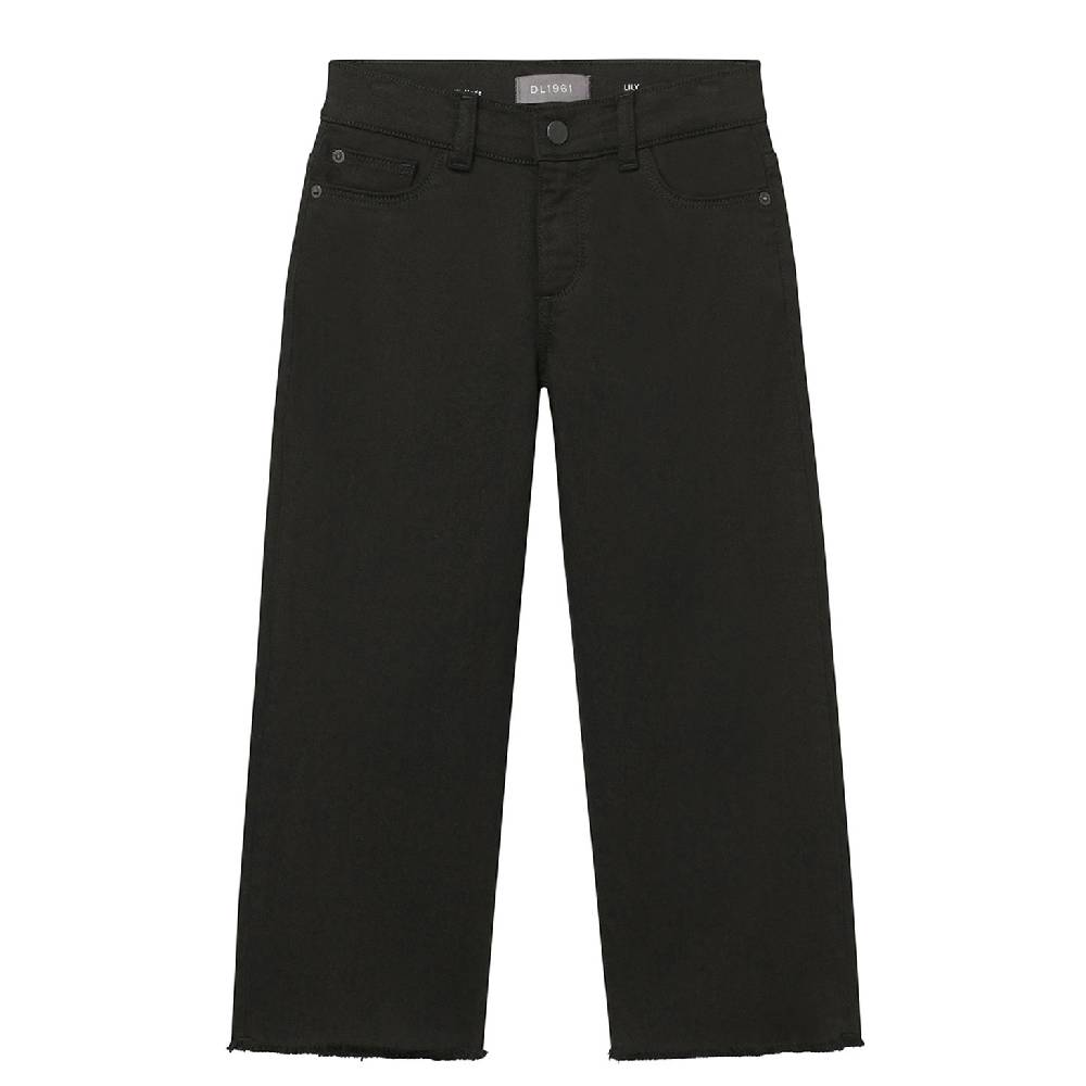 DL1961 Lily Wide Leg Black Jean KIDS - Girls - Clothing - Jeans DL 1961 PREMIUM DENIM Teskeys