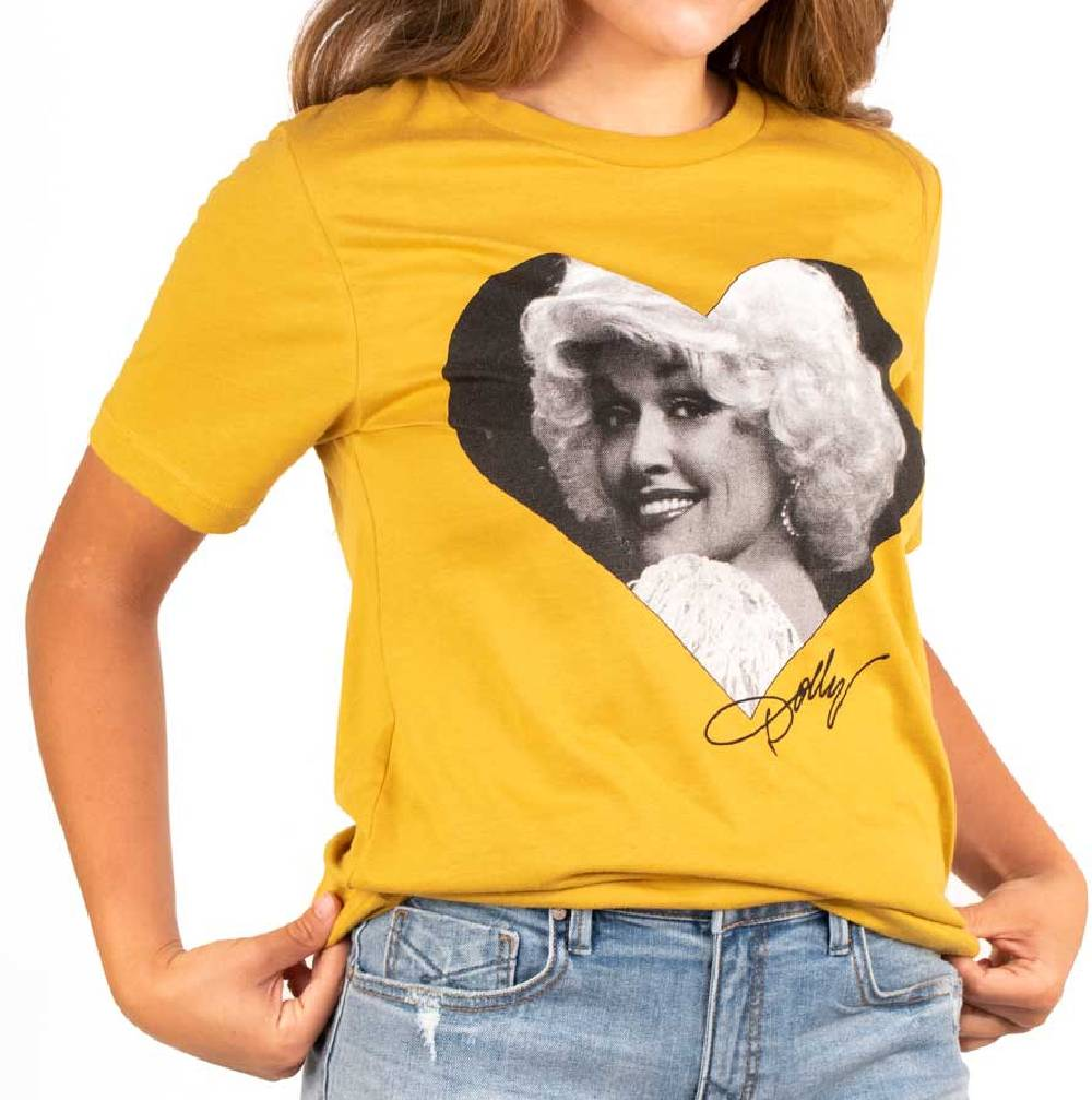 Bohemian Cowgirl Dolly Love Tee WOMEN - Clothing - Tops - Short Sleeved BOHEMIAN COWGIRL Teskeys