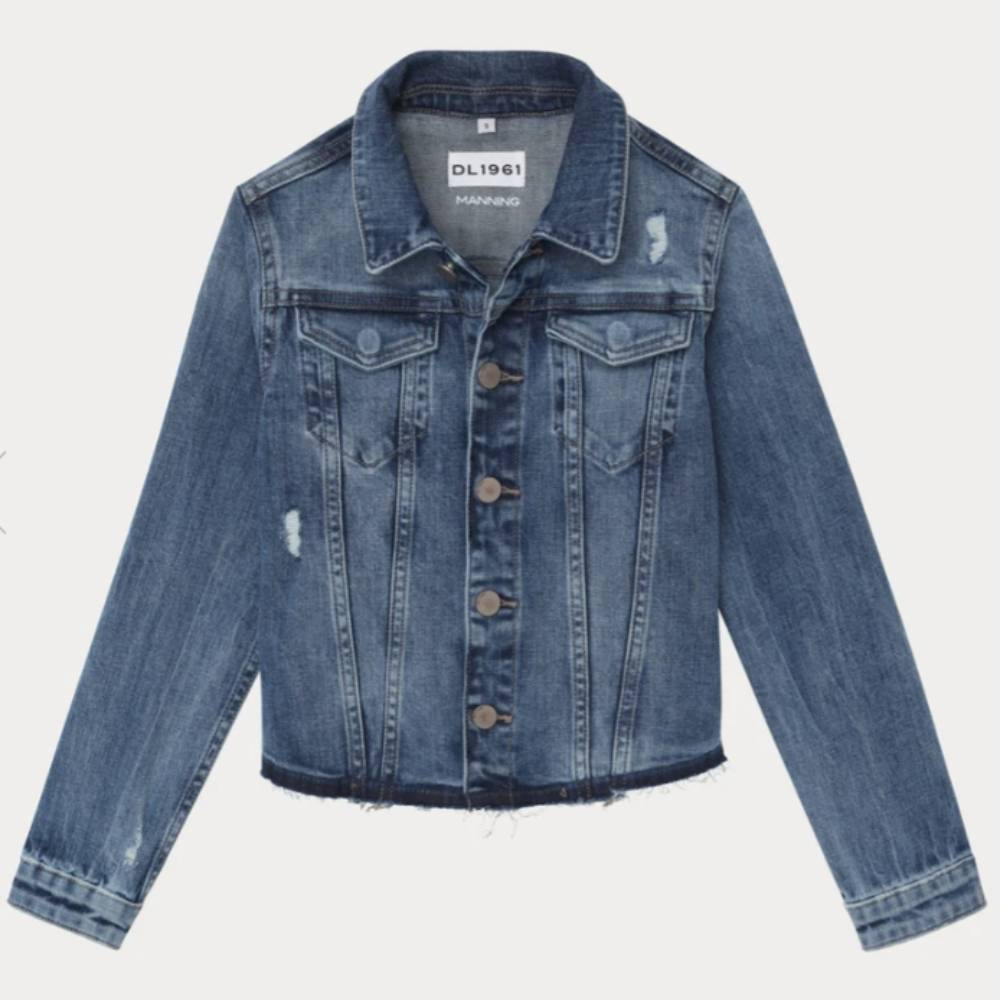 Girls Manning Denim Trucker Jacket KIDS - Girls - Clothing - Outerwear - Jackets DL1961 Denim Co. Teskeys