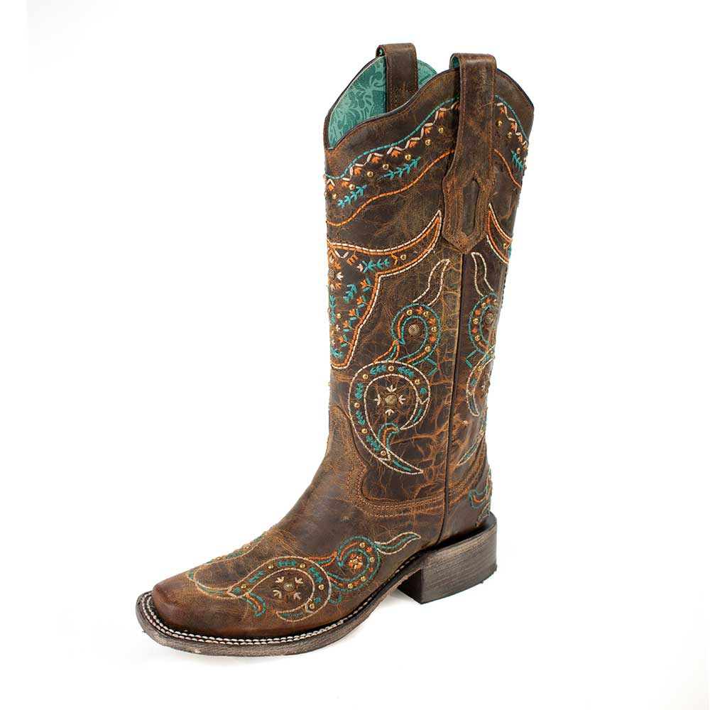 Corral Embroidered Boot WOMEN - Footwear - Boots - Fashion Boots CORRAL BOOTS Teskeys