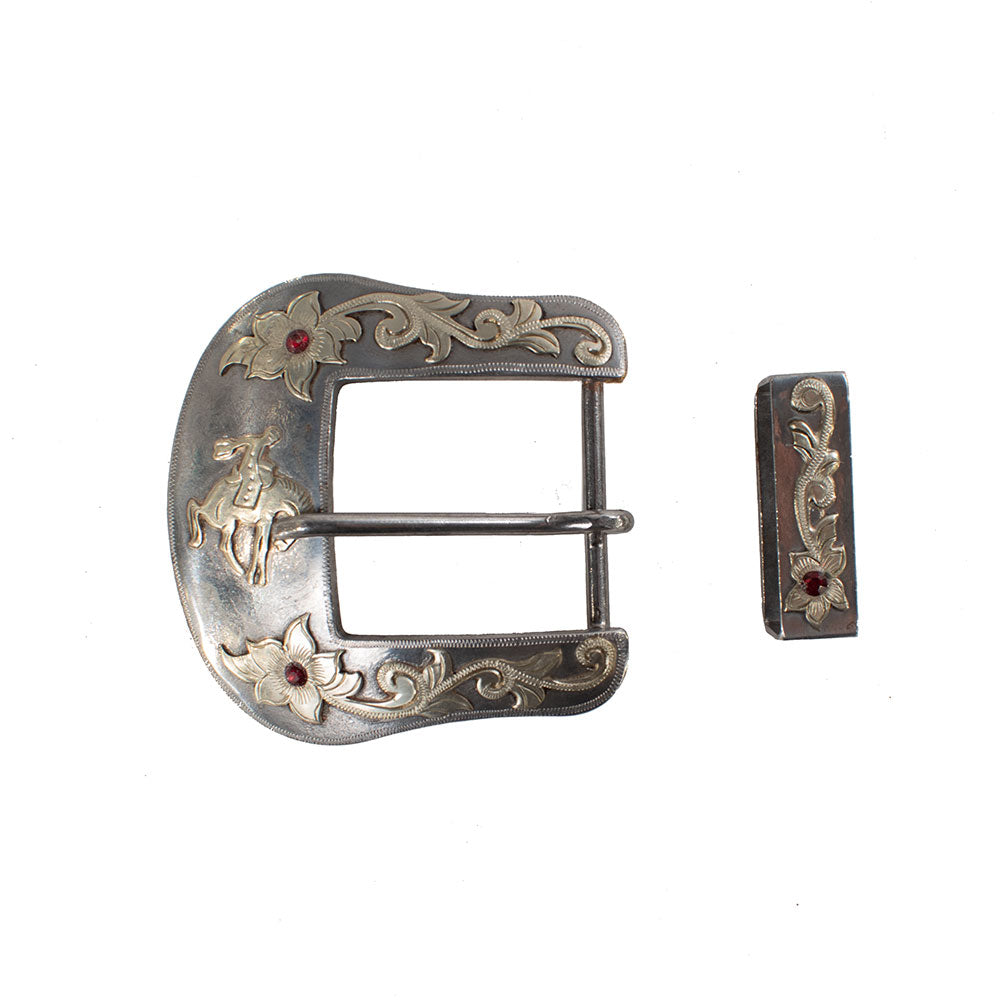 "CowPuncher Buckle 1 1/2"" Tack - Conchos & Hardware - Buckles Cowpuncher Teskeys"