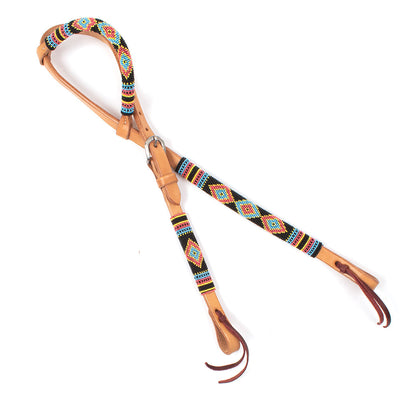 Teskey's One Ear Beaded Headstall Tack - Headstalls - One Ear Teskey's Teskeys