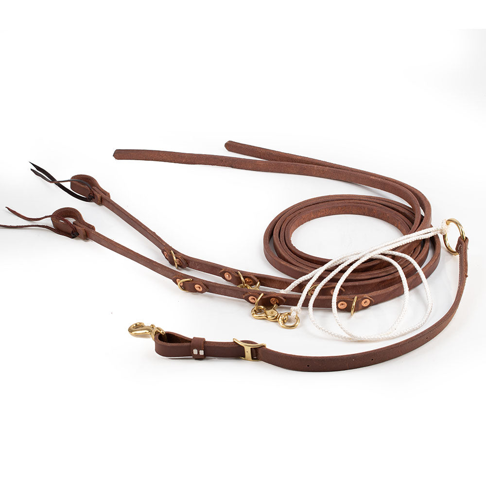 Teskey's Split Rein German Martingale Tack - Training Teskey's Teskeys