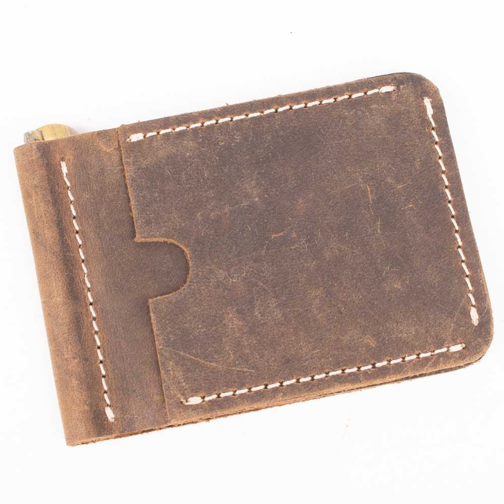 Big Sky Money Clip Wallet MEN - Accessories - Wallets & Money Clips Beddo Mountain Leather Goods Teskeys