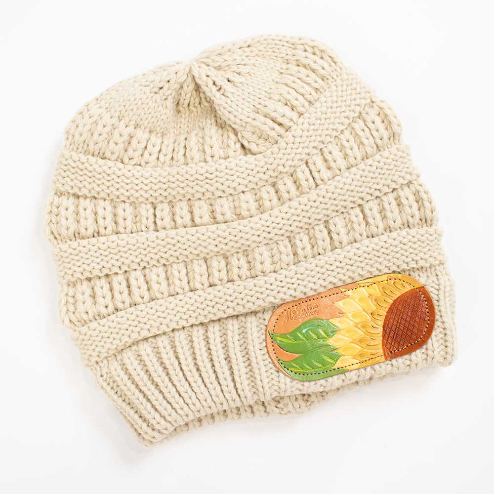 McIntire Saddlery Sunflower Patch Beanie