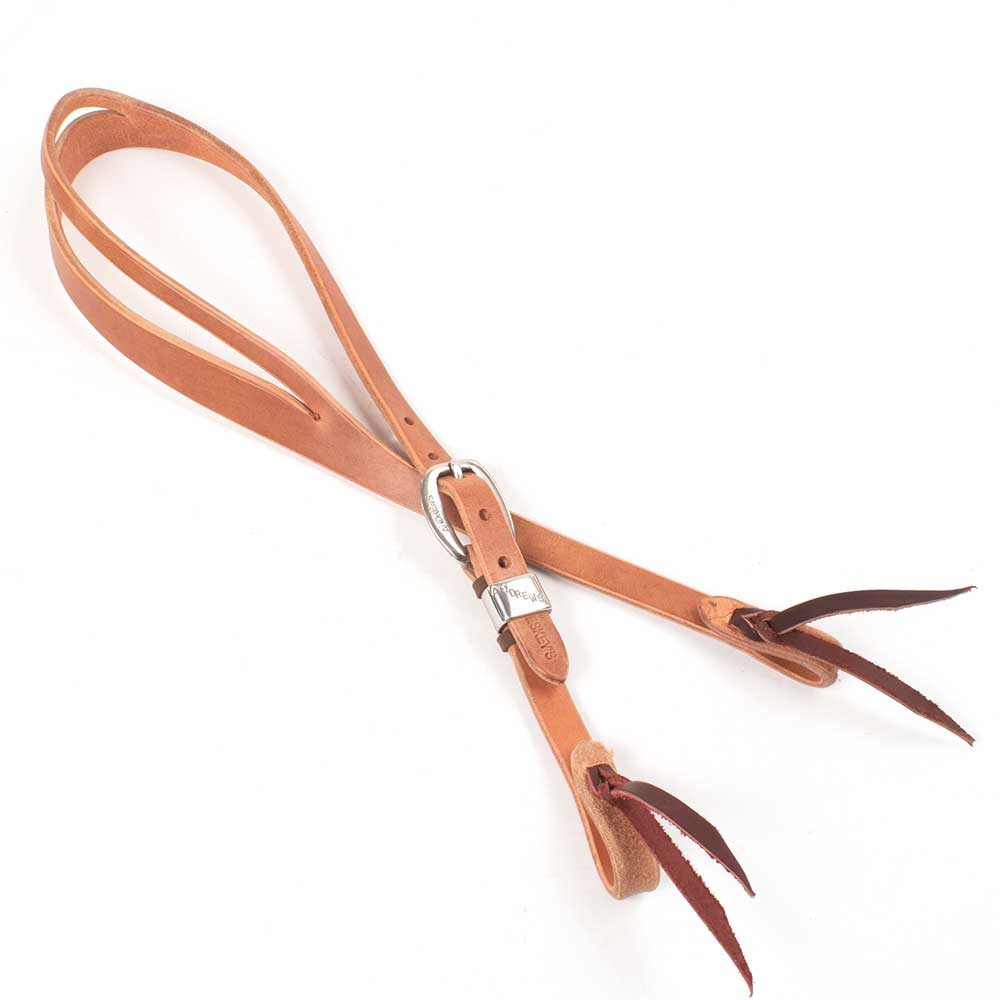 "Teskey's 3/4"" Slit Ear Andrews Buckle Headstall Tack - Headstalls - One Ear Teskeys Teskeys"