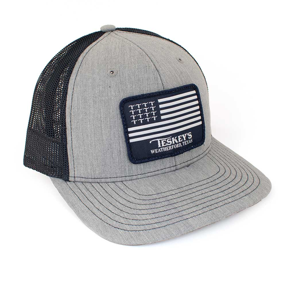Teskey's T Flag Logo Cap TESKEY'S GEAR - Baseball Caps RICHARDSON Teskeys