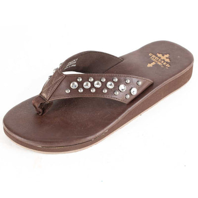 Gypsy Soule Liberty Low - Black or Chocolate WOMEN - Footwear - Sandals Gypsy Soule Teskeys