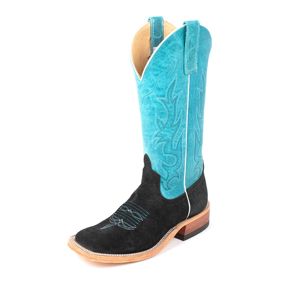 Anderson Bean Black Split Hippo Boot WOMEN - Footwear - Boots - Western Boots ANDERSON BEAN BOOT CO. Teskeys