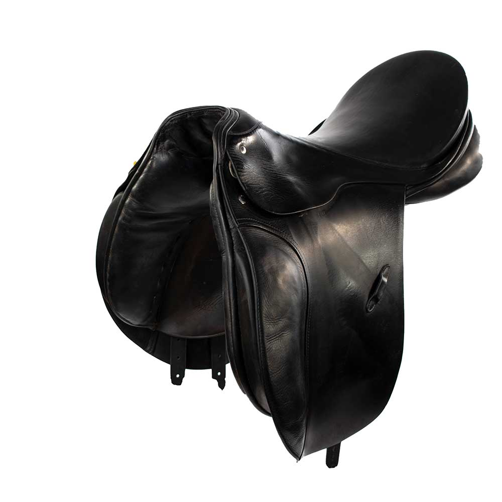 "17"" Passier Corona Dressage Saddle Tack - English Tack & Equipment - English Saddles Teskeys Teskeys"