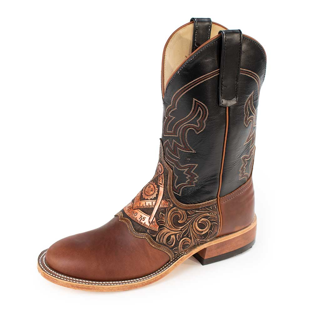 Teskey's Exclusive Past Master Round Toe Boot