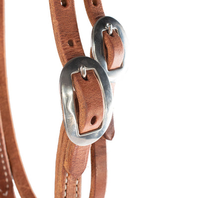 Patrick Smith Browband Headstall With Pineapple Tie Ends Tack - Headstalls - Browband Patrick Smith Teskeys
