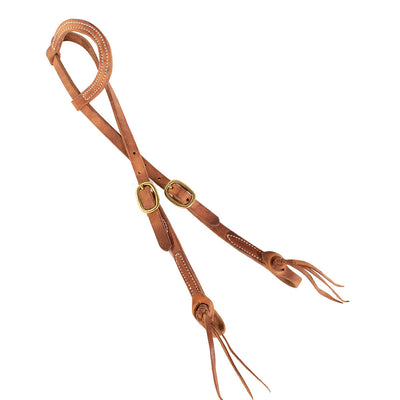 Teskey's One Ear Headstall With Pineapple Knots Tack - Headstalls - One Ear Teskeys Teskeys
