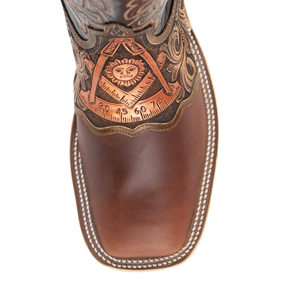 Teskey's Exclusive Past Master Square Toe Boot MEN - Footwear - Western Boots ANDERSON BEAN BOOT CO. Teskeys