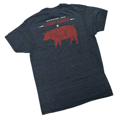 Teskey's Chop Shop Tee - Midnight Blue TESKEY'S GEAR - SS T-Shirts OURAY SPORTSWEAR Teskeys