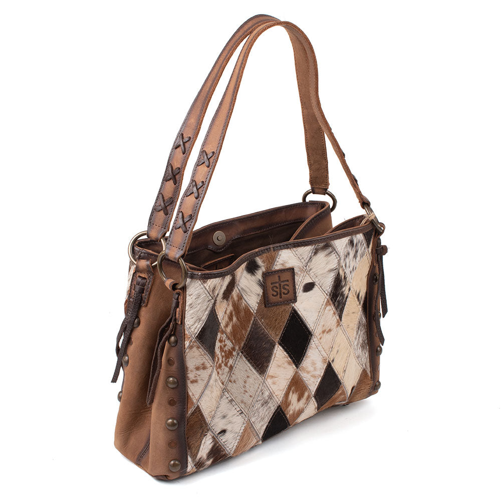 STS Ranchwear Maggie Mae Diamond Cowhide Purse WOMEN - Accessories - Handbags - Shoulder Bags STS Ranchwear Teskeys